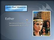 Biblical Women Esther