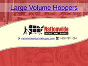 large volume hoppers
