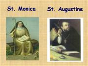 St. Augustine and Monica (IP-1st)