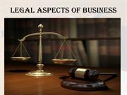 ppt of legal aspects of business