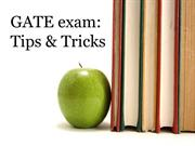 GATE exam Tips and Tricks