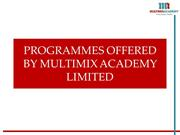 PROGRAMMES OFFERED BY MULTIMIX ACADEMY LIMITED (2)