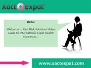 Expat Health Insurance Guide