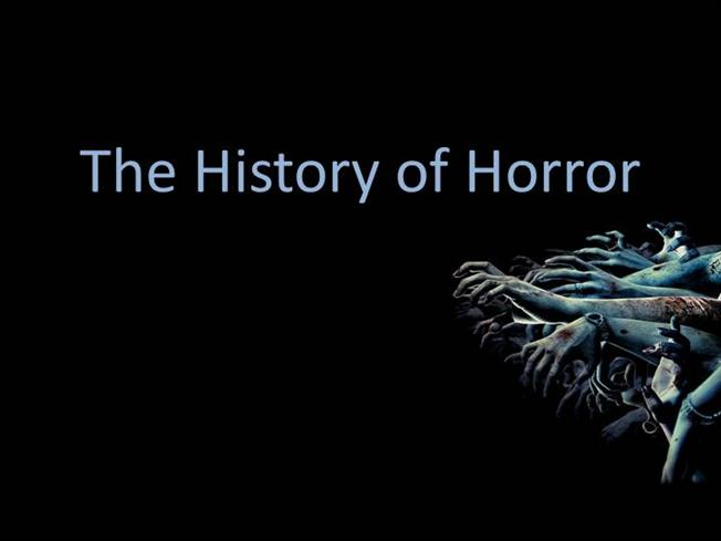 The History Of Horror AuthorSTREAM