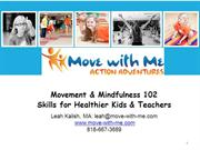 Movement & Mindfulness 102