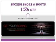 Boxing Shoes & Boots - 15% OFF