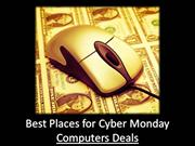 Best Places for Cyber Monday Computers Deals