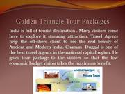 Golden Triangle Tour Packages in Delhi