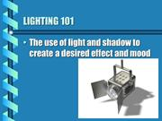COMM 119 TVP1 - Lighting Basics (PP #6)