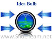 IDEA BULB BUSINESS POWERPOINT PRESENTATION SLIDES CC