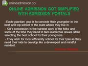 Online Admission got simplified with Admission Portals