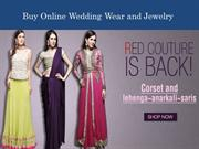 Buy Different Varieties of Indian Wedding Clothing and Jewelry
