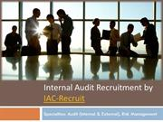 Internal Audit Connections