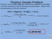 Titration Sample #2