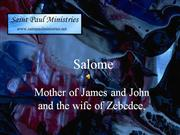 Biblical Women Salome