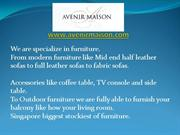 Avenir Maison – Furniture Stores & Outdoor Furniture in Singapore