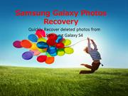 How to recover deleted photos from Samsung Galaxy Note 3
