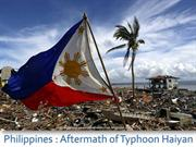 Philippines - Aftermath of Typhoon Haiyan