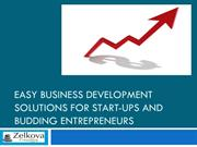 Easy Business Development Solutions For Start-Ups And  Entrepreneurs