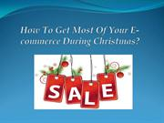 Increase your Christmas sales with Effective Ecommerce SEO services