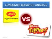 Consumer behavior- Maggi