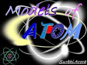atomic structure or atomic theory
