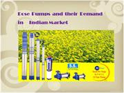 Dose Pumps and their Demand in Indian Market