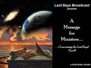 Message to the Ministers II