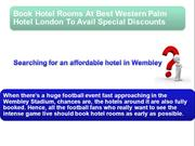 Book Hotel Rooms At Best Western Palm Hotel London & Avail Discounts