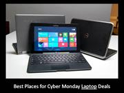 Best Places for Cyber Monday Laptop Deals 2013