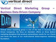 Vertical Direct Marketing Group – Business Data Driven Company