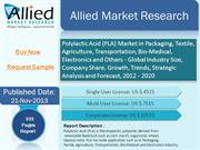Polylactic Acid Market By Allied Market Research 2013