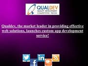 Qualdev, the market leader in providing effective web solutions