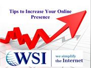 Tips to Increase Your Online Presence