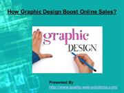 How Graphic Design Boost Online Sales?