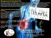 Back pain management