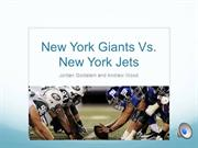 The New York Giants vs. The New York Jets