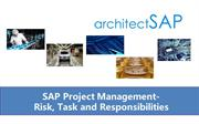 SAP Project Management-Risk, Task and Responsibilities