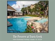 The Preserve at Travis Creek Apartments, Austin, TX