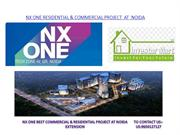 NX ONE RESIDENTIAL & COMMERCIAL PROJECT  AT  NOIDA