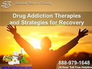 Drug Addiction Therapies and Strategies for Recovery