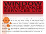 Don't Put Yourself at Risk while Cleaning High Rise Windows Manufactur