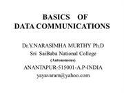 BASICS    OF    DATA COMMUNICATIONS