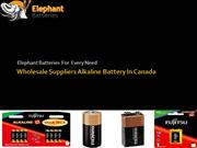 Get Best Quality Alkaline & Dry Batteries at Wholesale Price