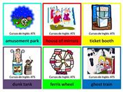 FLASHCARDS - AMUSEMENT PARK
