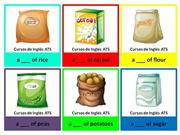FLASHCARDS - CONTAINERS