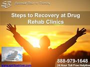 Steps to Recovery at Drug Rehab Clinics