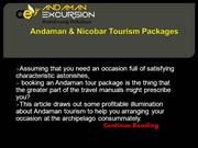 Andaman & Nicobar Tourism Packages