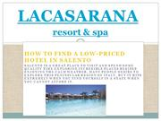 Find a Low-Priced Hotel in Salento