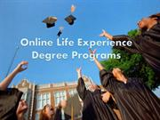 Best Online Life Experience Degree Programs